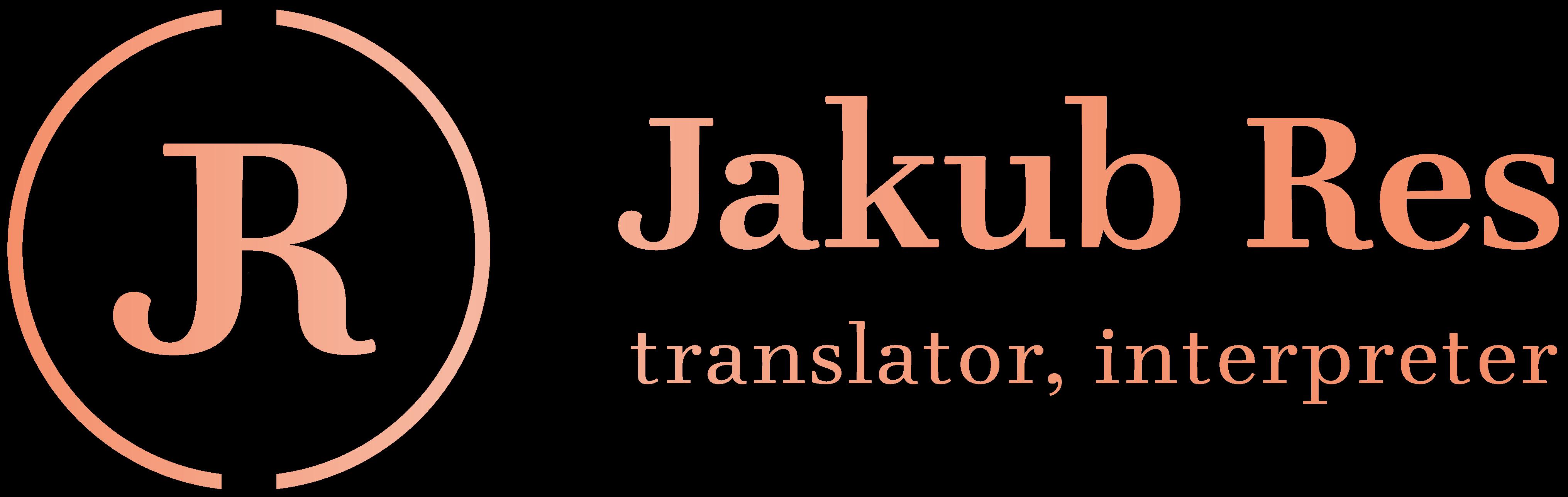 Jakub Res – tlumočník, překladatel